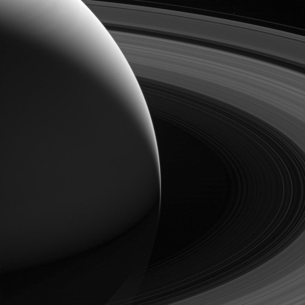 The Grace of Saturn (Cassini Image)