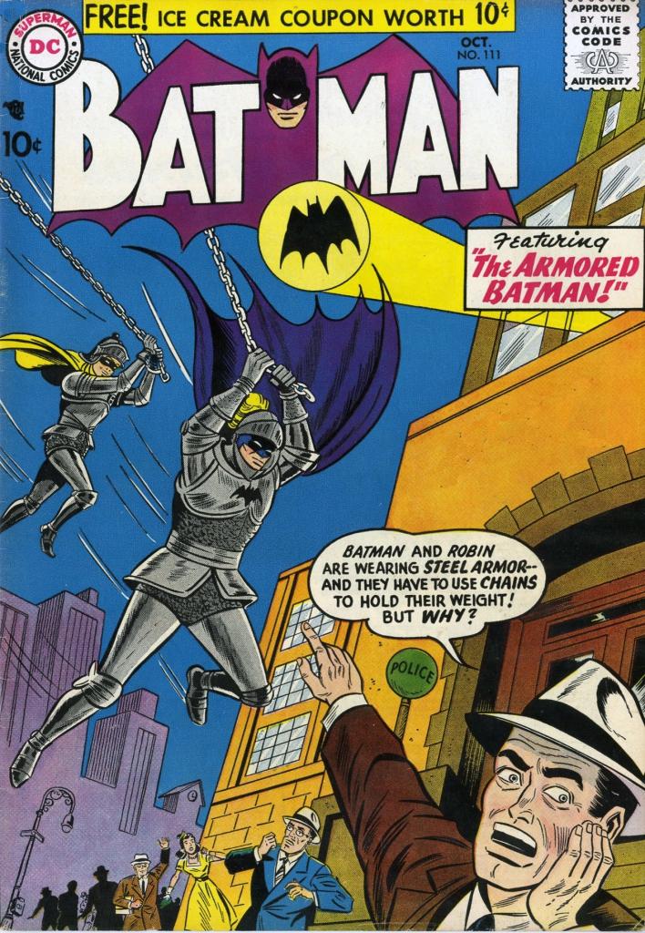 Batman No. 111 Cover - The Armored Batman