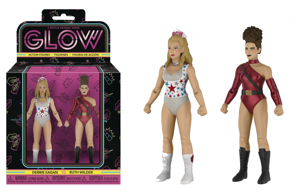 Debbie Eagan and Ruth Wilder GLOW Action Figures