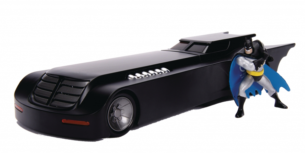 Jada Metals - Batman Animated Batmobile 1/24 Scale Vehicle