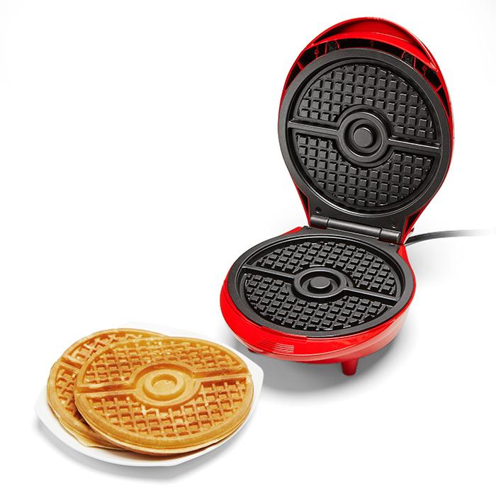 Pokemon Ball Waffle Maker