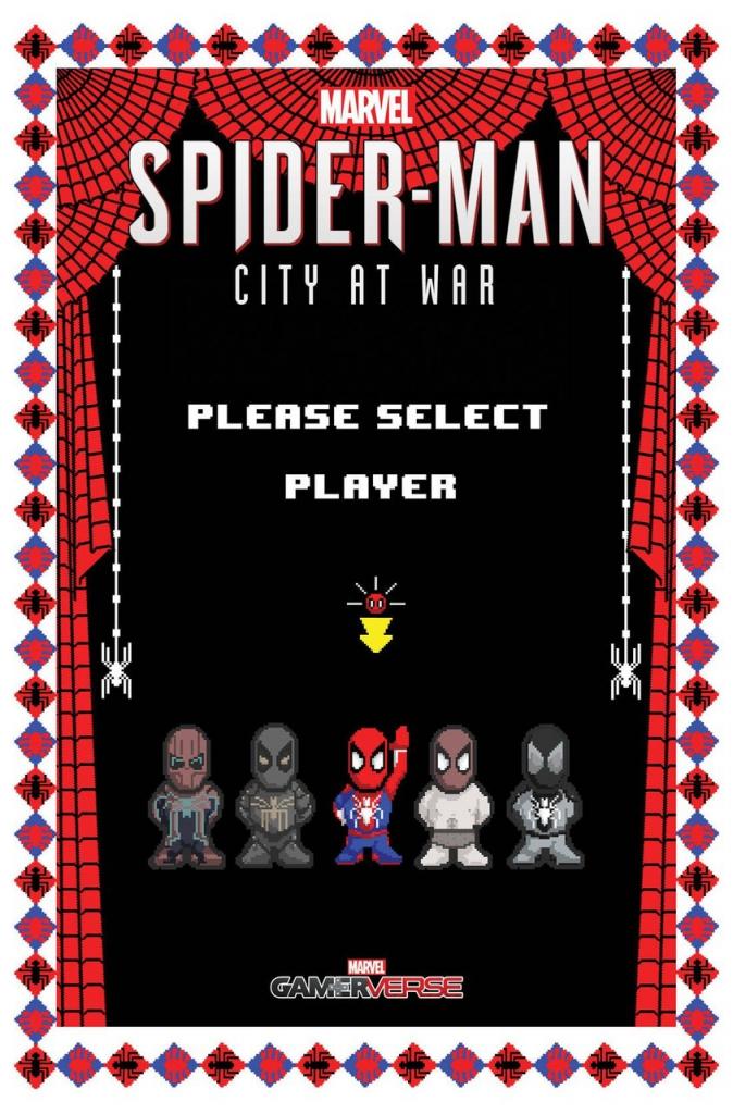 Spider-Man: City At War #5 - 8-Bit Variant Cover