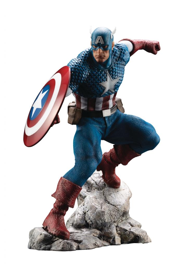 ArtFX+ Captain America Statue
