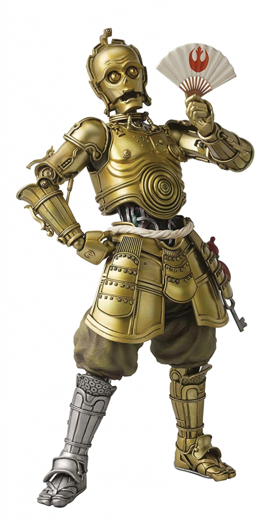Star Wars: Honyaku Karakuri C-3PO Meisho Action Figure