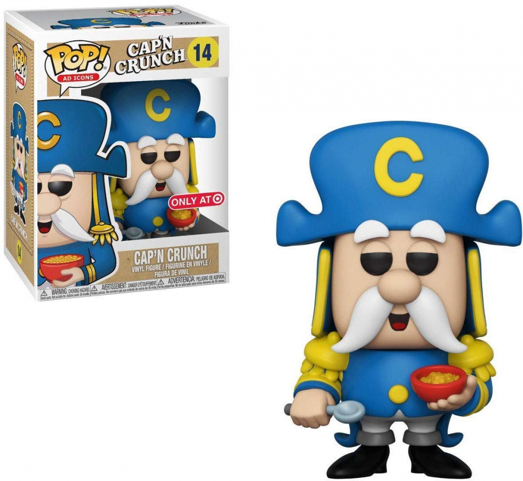 Funko Pop! Cap'N Crunch Vinyl Figure