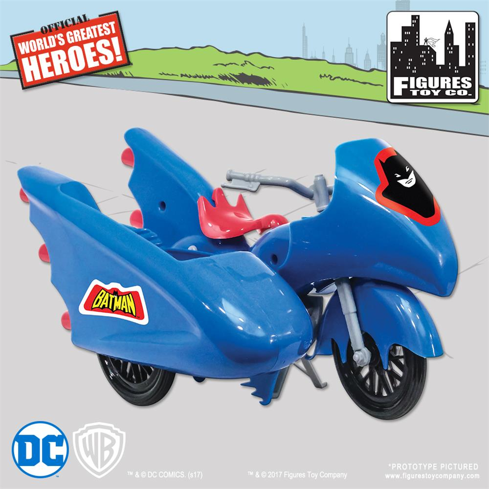 Retro Batcycle - Blue