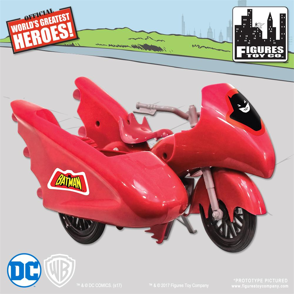 Retro Batcycle - Red