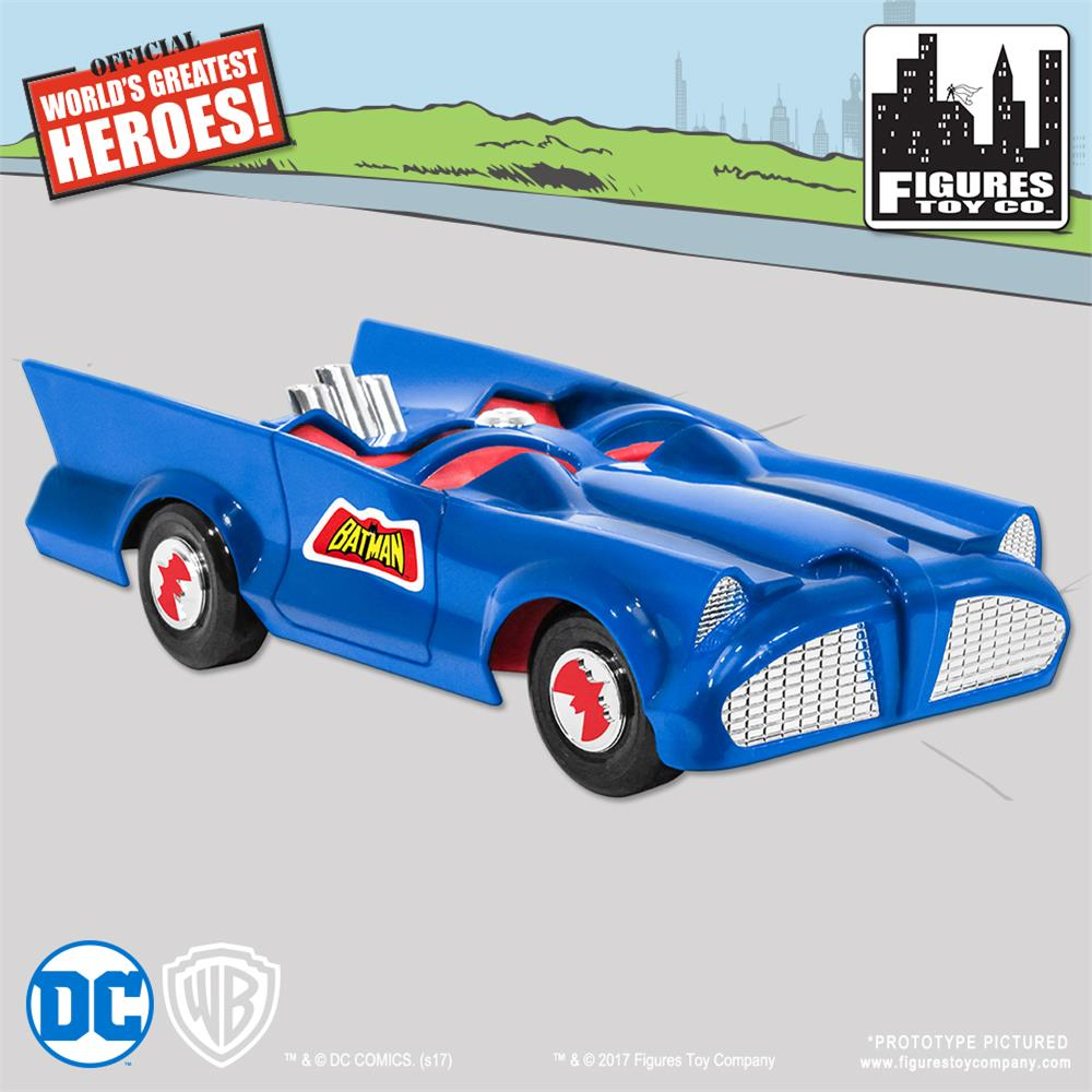 Retro Batmobile - Blue