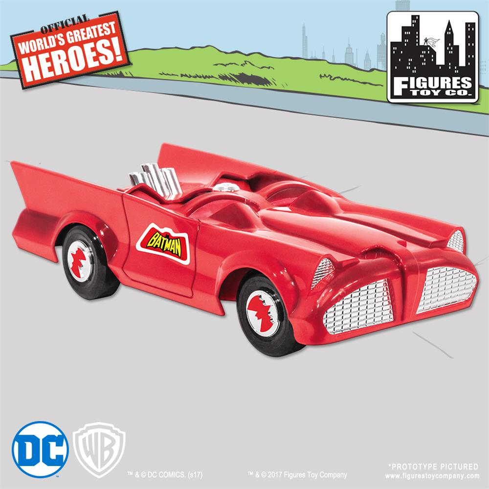 Retro Batmobile - Red