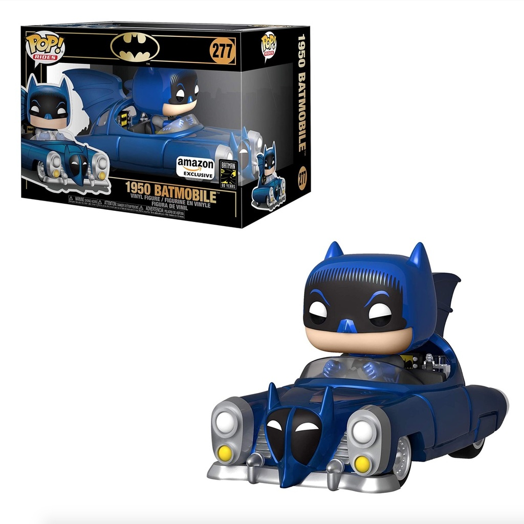 Funko Pop! Batmobile (1950) - Blue Metallic Variant