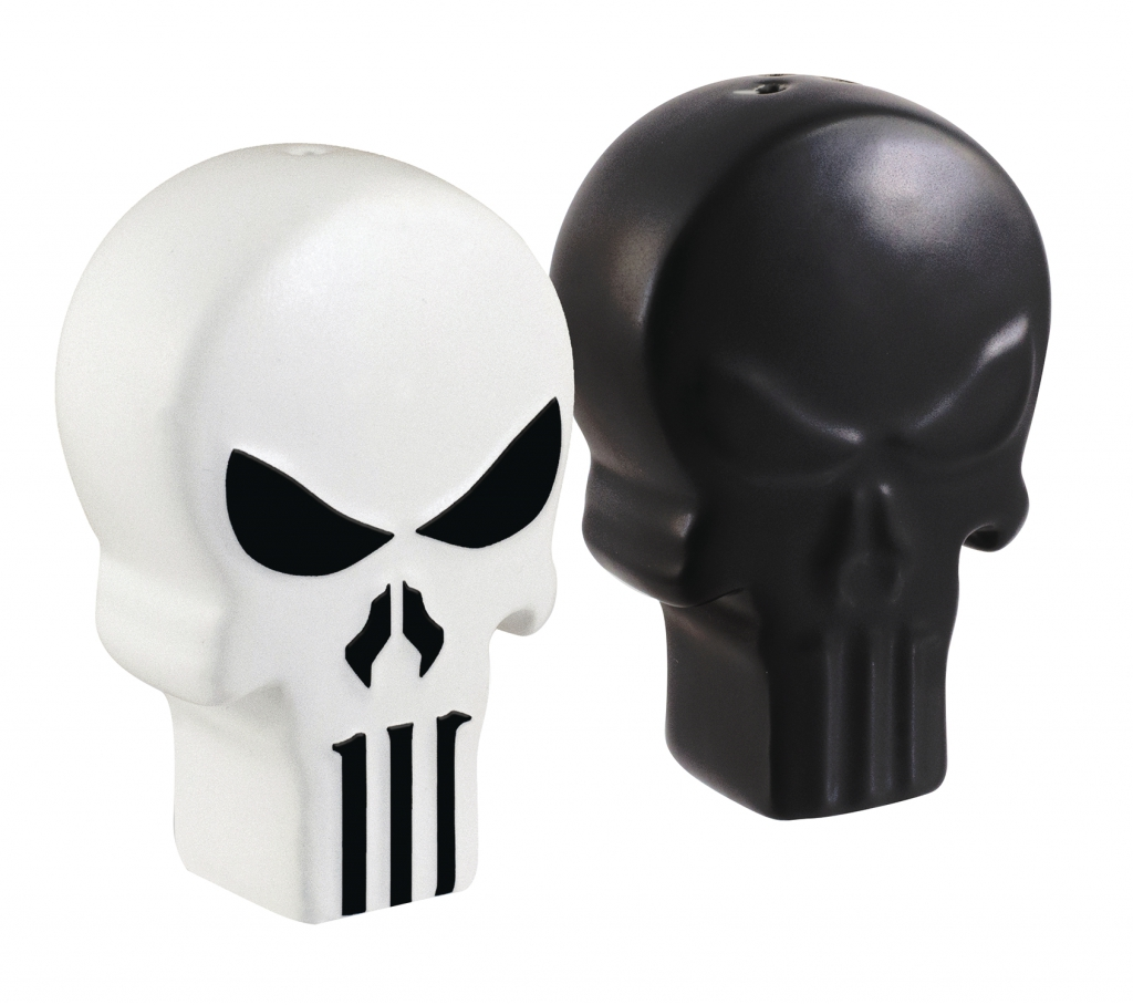 The Punisher Salt & Pepper Shakers