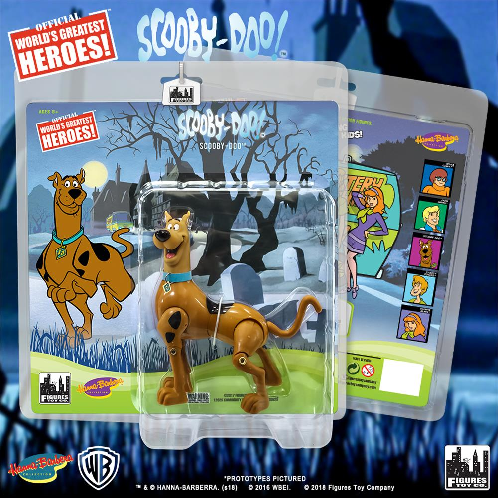 Figures Toy Co. Retro Scooby Doo Action Figures - Scooby Doo