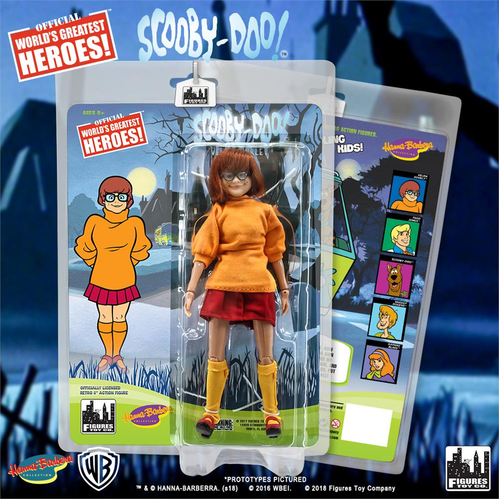 Figures Toy Co. Retro Scooby Doo Action Figures - Velma