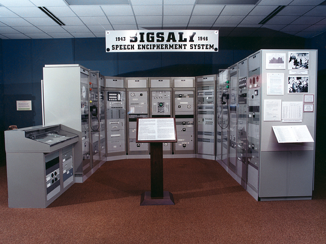 SIGSALY Exhibit at the National Cryptologic Museum