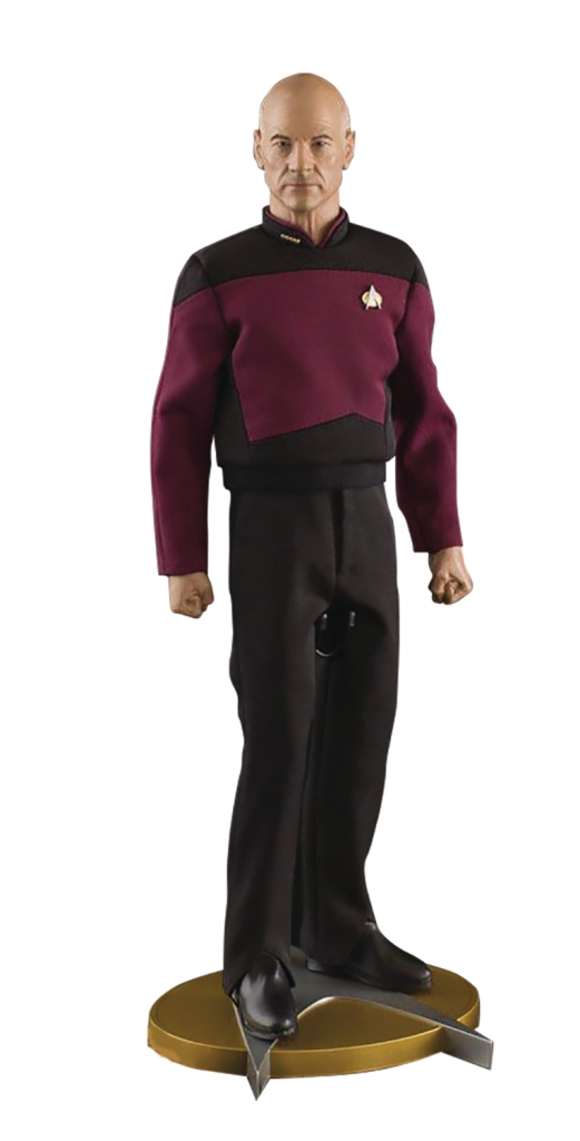 1/6 Scale Capt. Jean Luc-Picard Action Figure