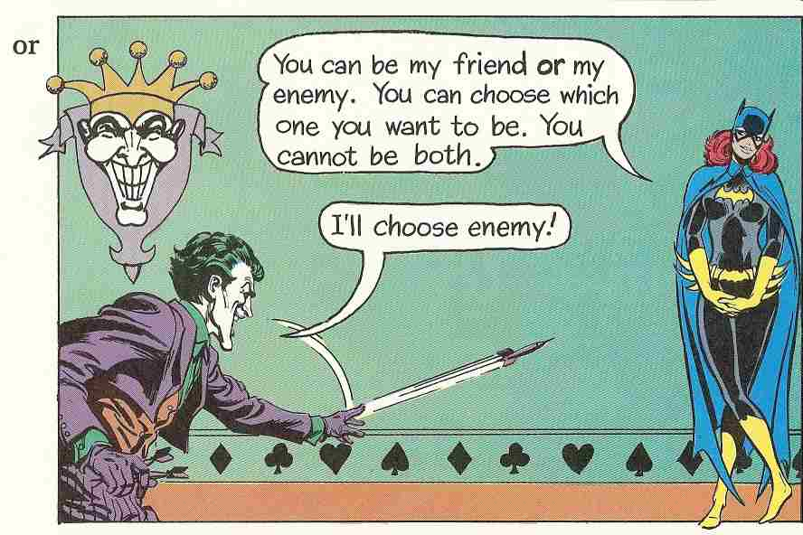 The Super Dictionary - Joker Can Be Friend Or Enemy
