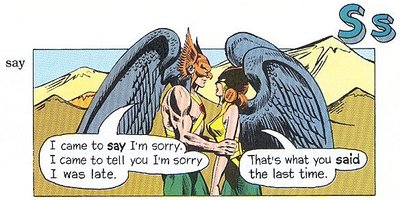 The Super Dictionary - Hawkman Says Sorry