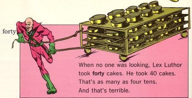 The Super Dictionary - Lex Luthor Steals Forty Cakes