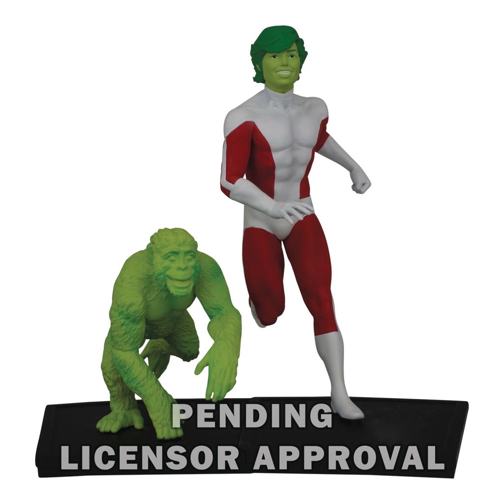 Teen Titans Polystone Statues - Changeling (Beast Boy)