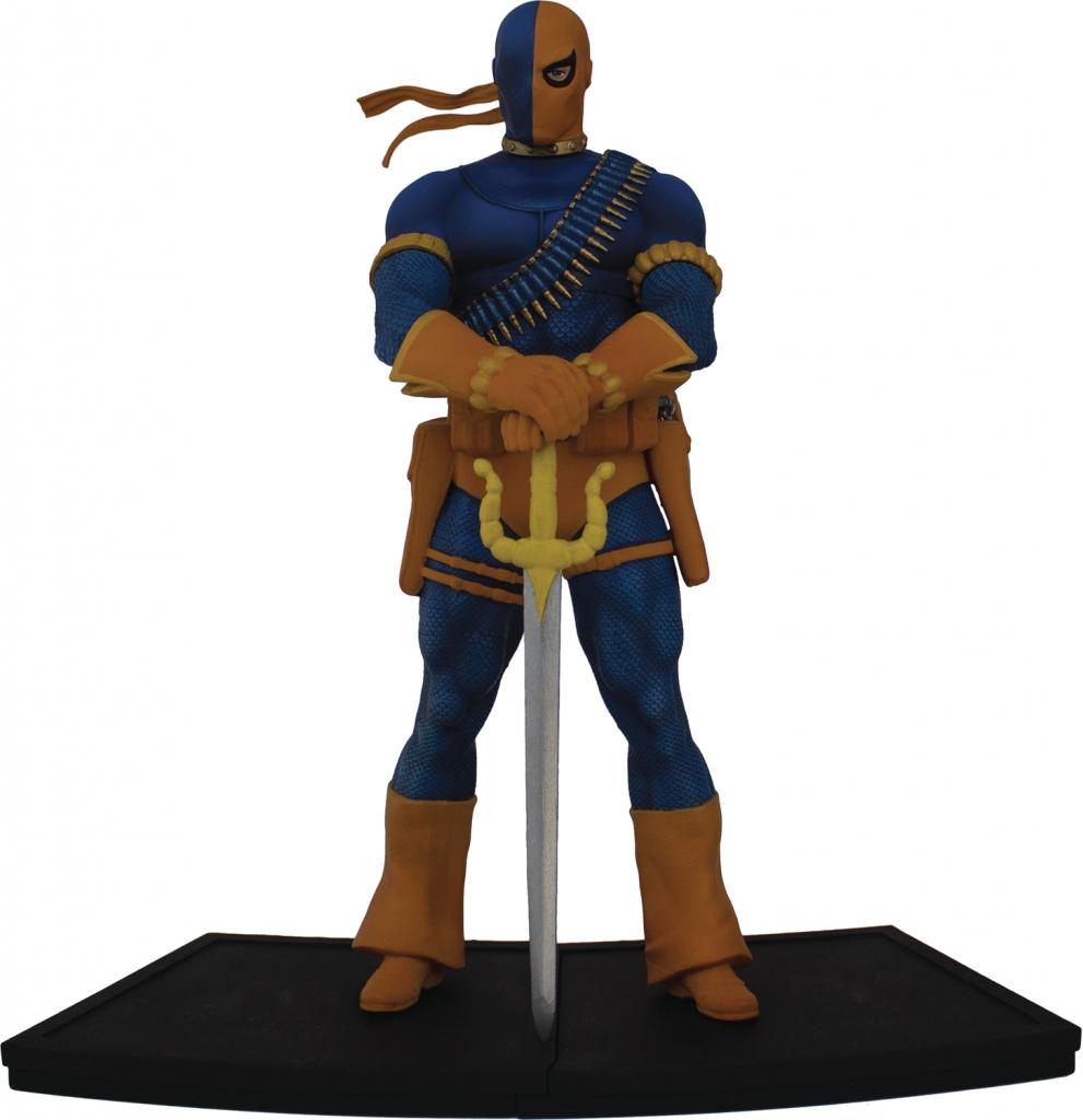 Teen Titans Polystone Statues - Deathstroke