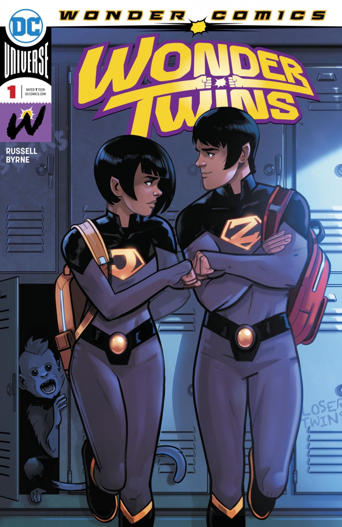 Wonder Twins - Vol 1, No. 1
