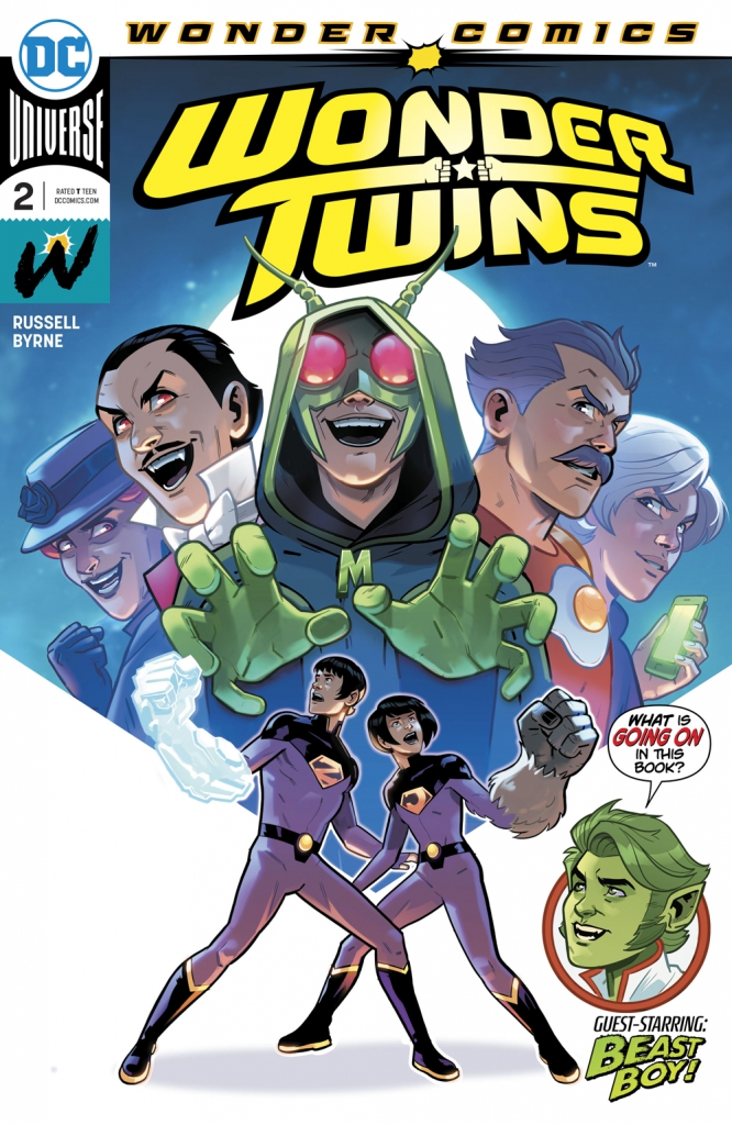 Wonder Twins - Vol 1, No. 2