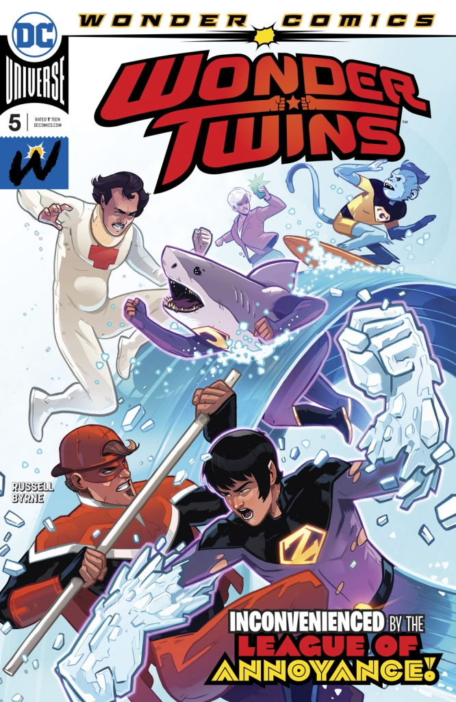 Wonder Twins - Vol 1, No. 5