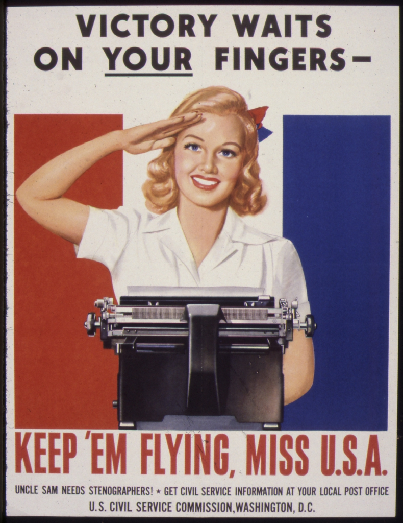 World War II Propaganda Posters - Victory Waits On Your Fingers