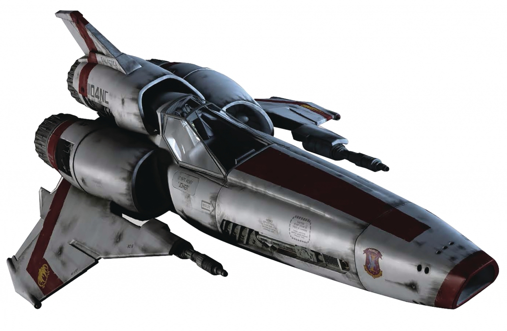 Eaglemoss Battlestar Galactica Collection - Viper MKII (2004)