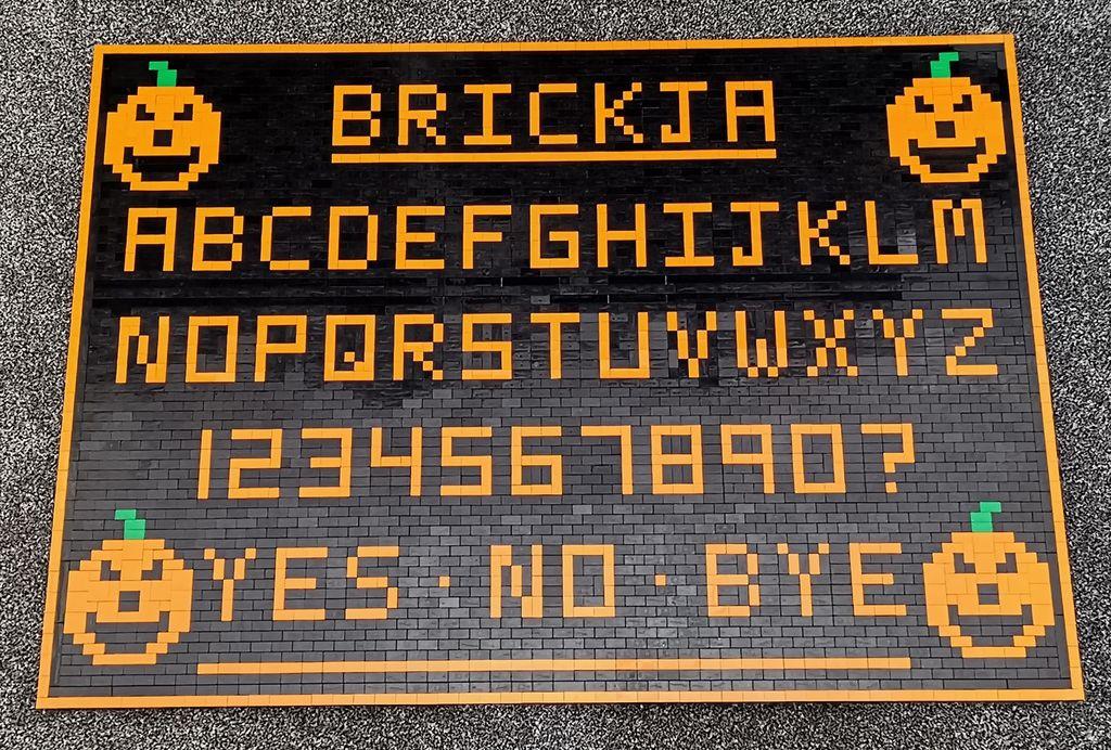 Lego Ouija Board