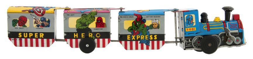 Marvel Super Hero Express Wind Up Train