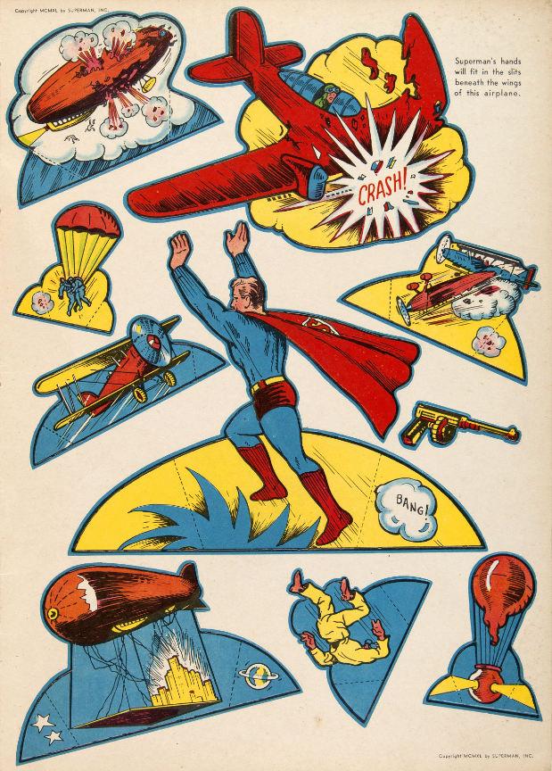 Superman Cut-Outs