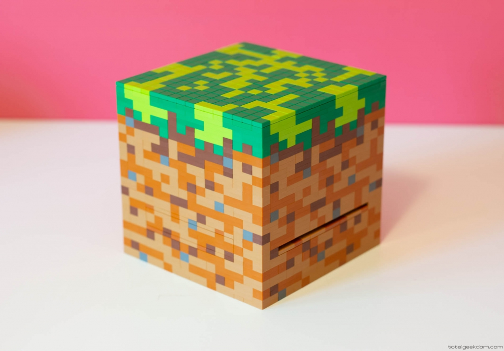 Lego Minecraft Computer