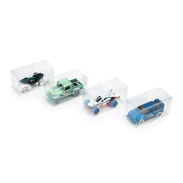 Clear Boxes for Diecast Cars