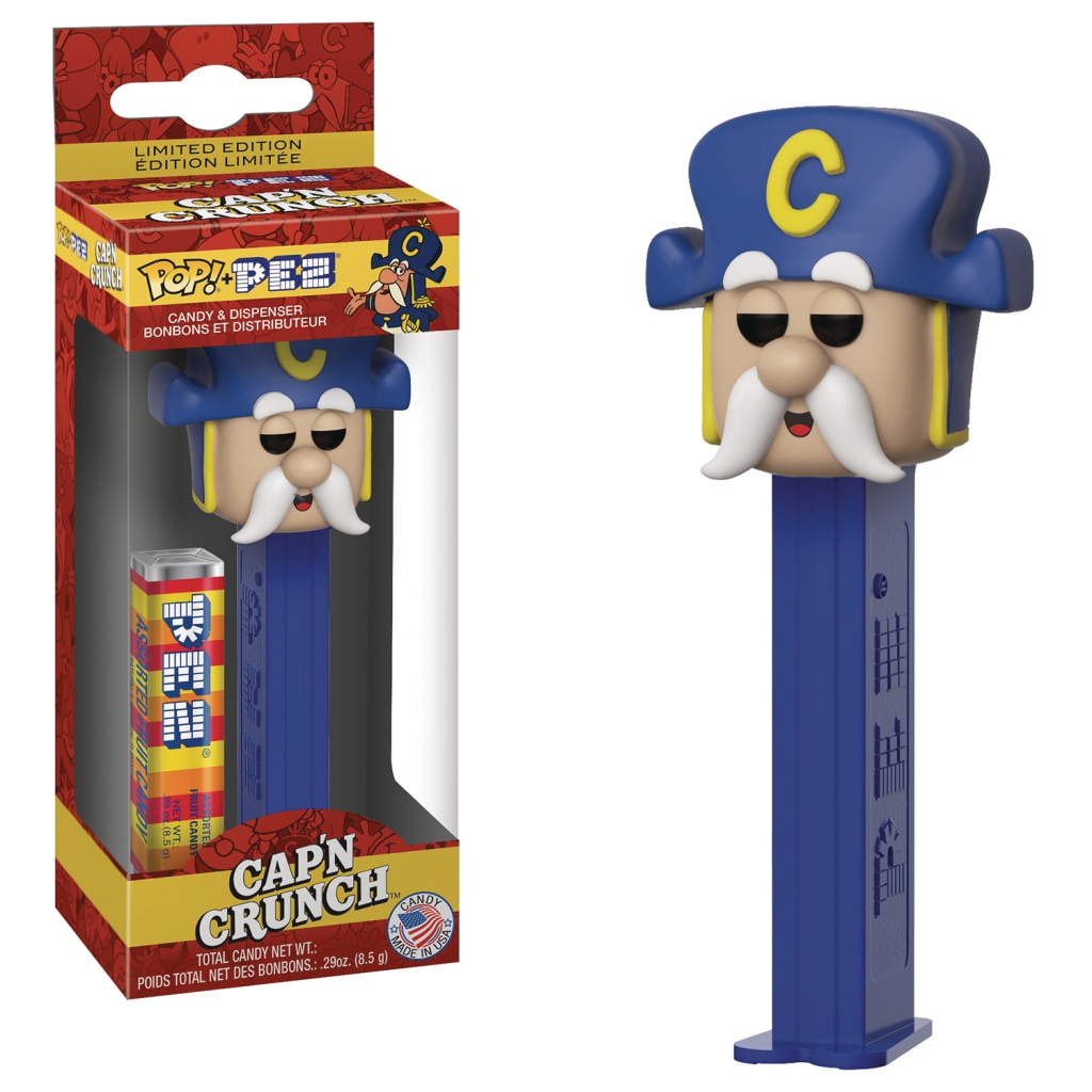 Funko Pop! Pez Dispensers - Quaker Oats Mascot - Cap'n Crunch