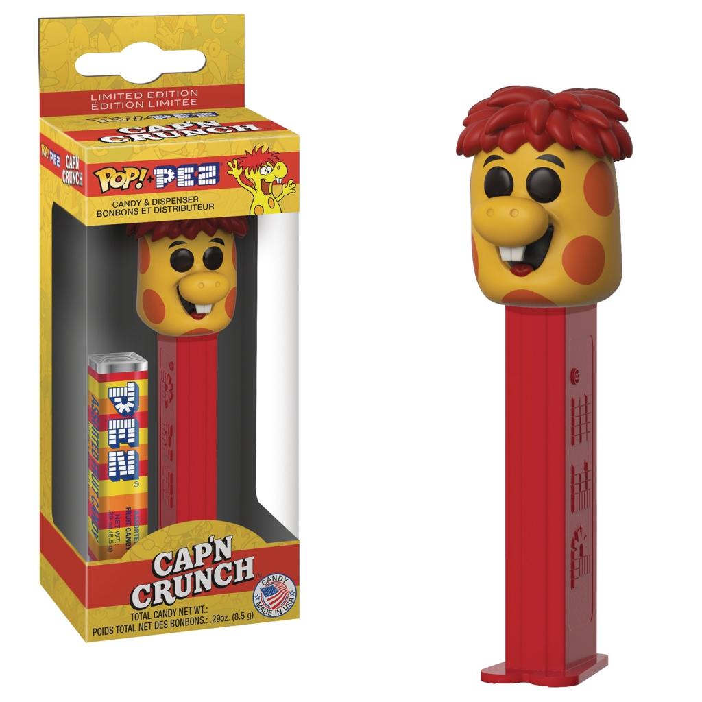 Funko Pop! Pez Dispensers - Quaker Oats Mascot - Crunch Berry Monster