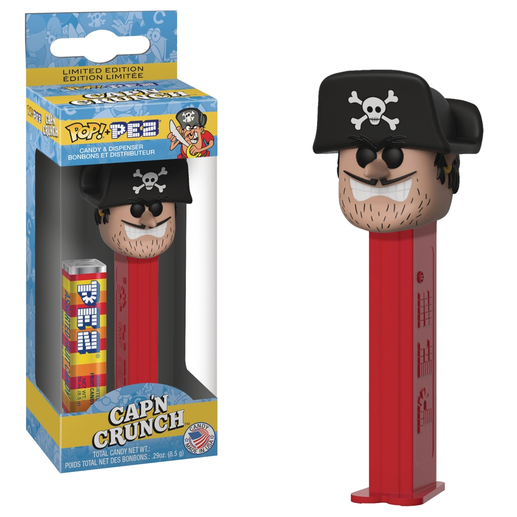 Funko Pop! Pez Dispensers - Quaker Oats Mascot - Jean LaFoote