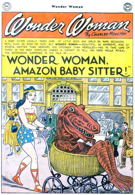 Wonder Woman. Amazon Baby Sitter!