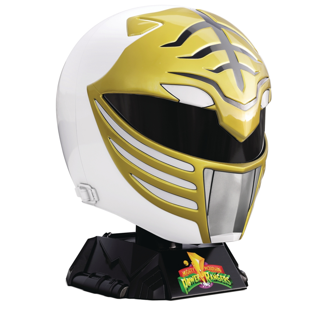 Mighty Morphin Power Rangers - White Ranger Helmet