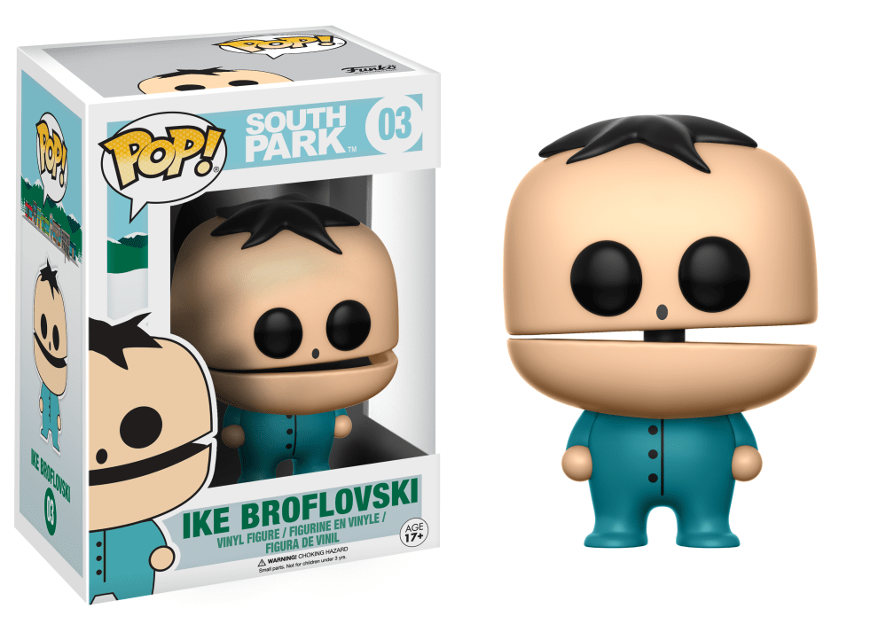 Funko Pop! South Park Vinyl Figures - Ike Broflovksi