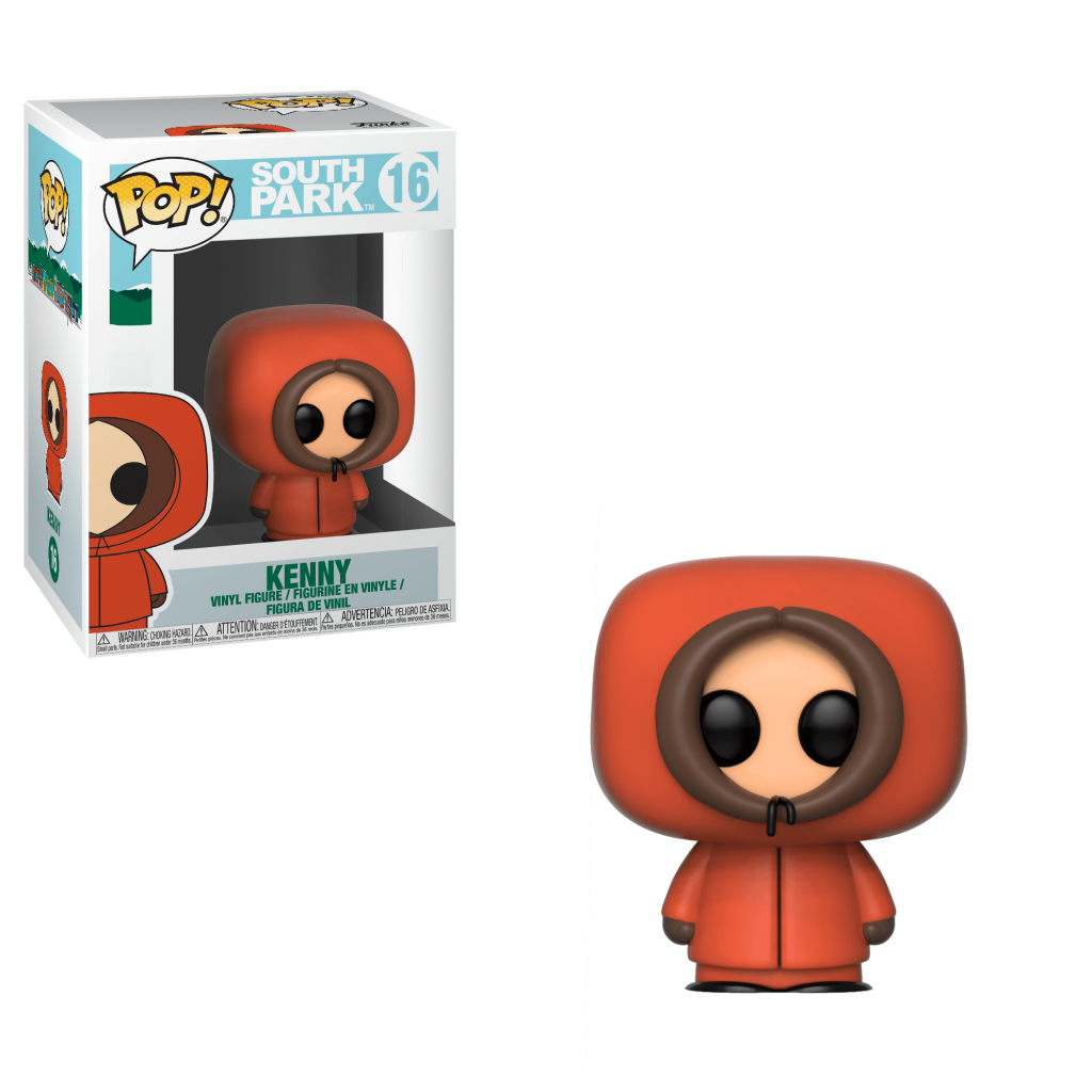 Funko Pop! South Park Vinyl Figures - Kenny McCormick
