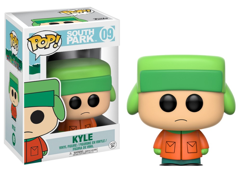 Funko Pop! South Park Vinyl Figures - Kyle Broflovksi