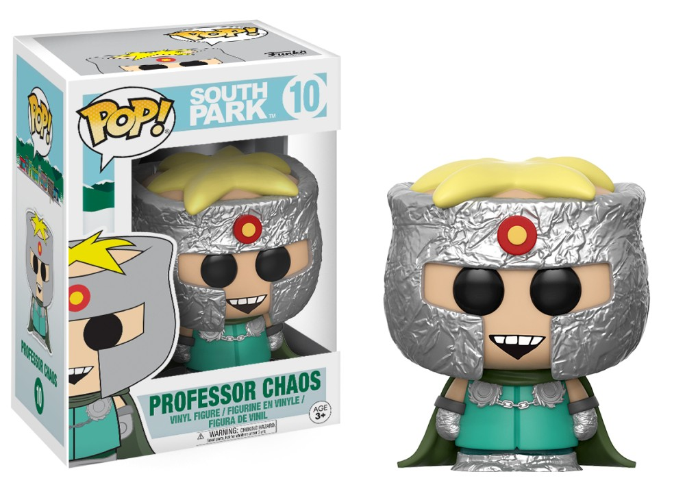 Funko Pop! South Park Vinyl Figures - Professor Chaos