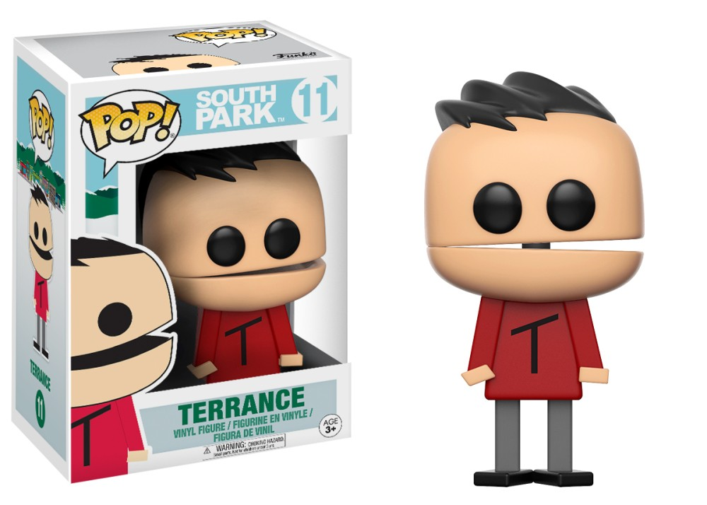 Funko Pop! South Park Vinyl Figures - Terrance
