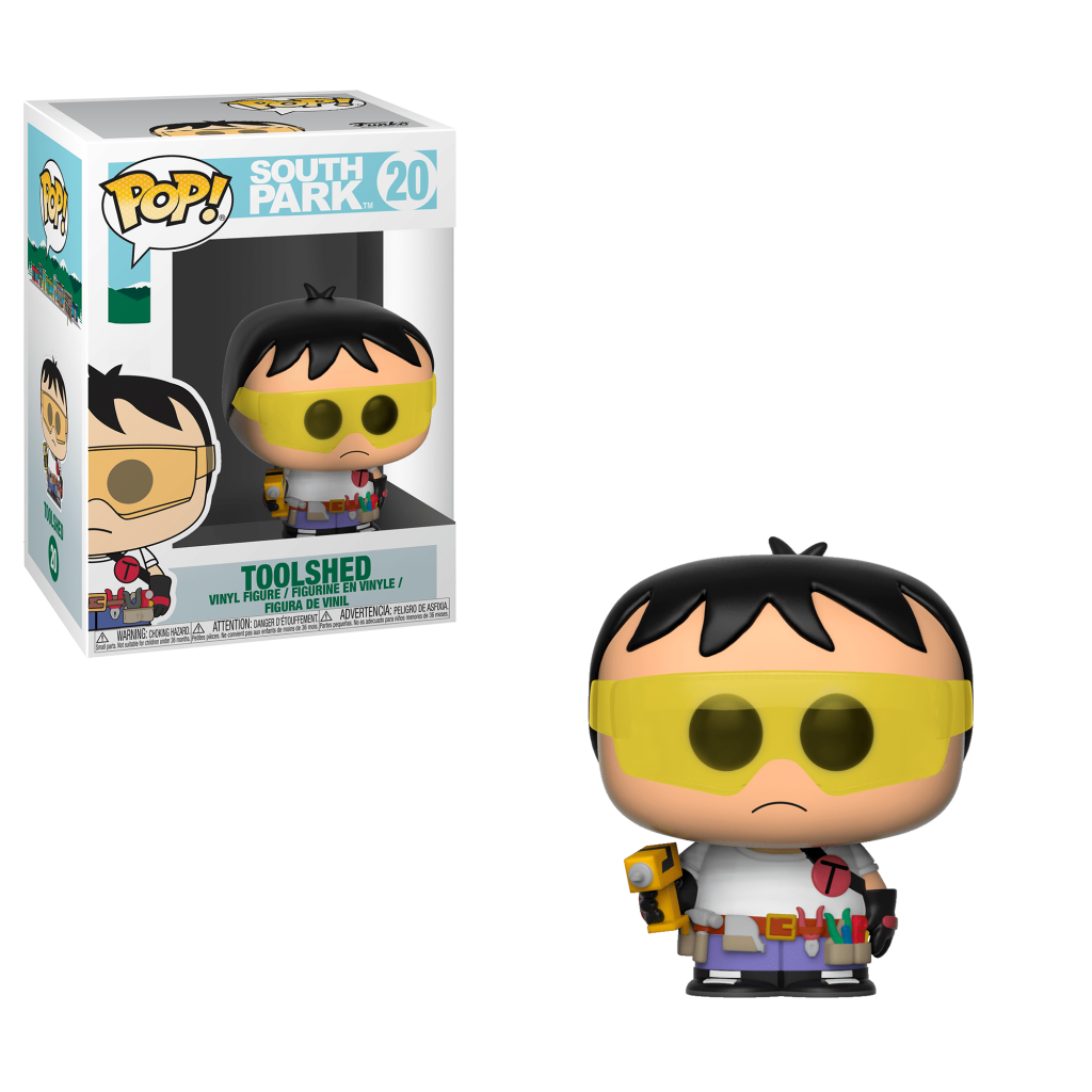 Funko Pop! South Park Vinyl Figures - Toolshed