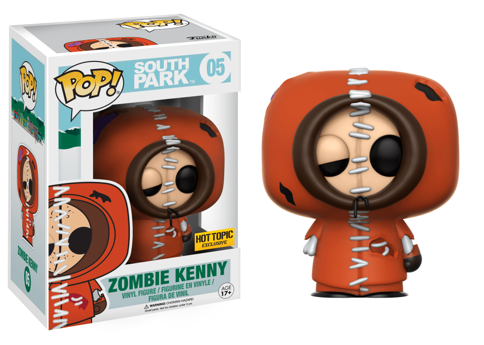 Funko Pop! South Park Vinyl Figures - Zombie Kenny McCormick