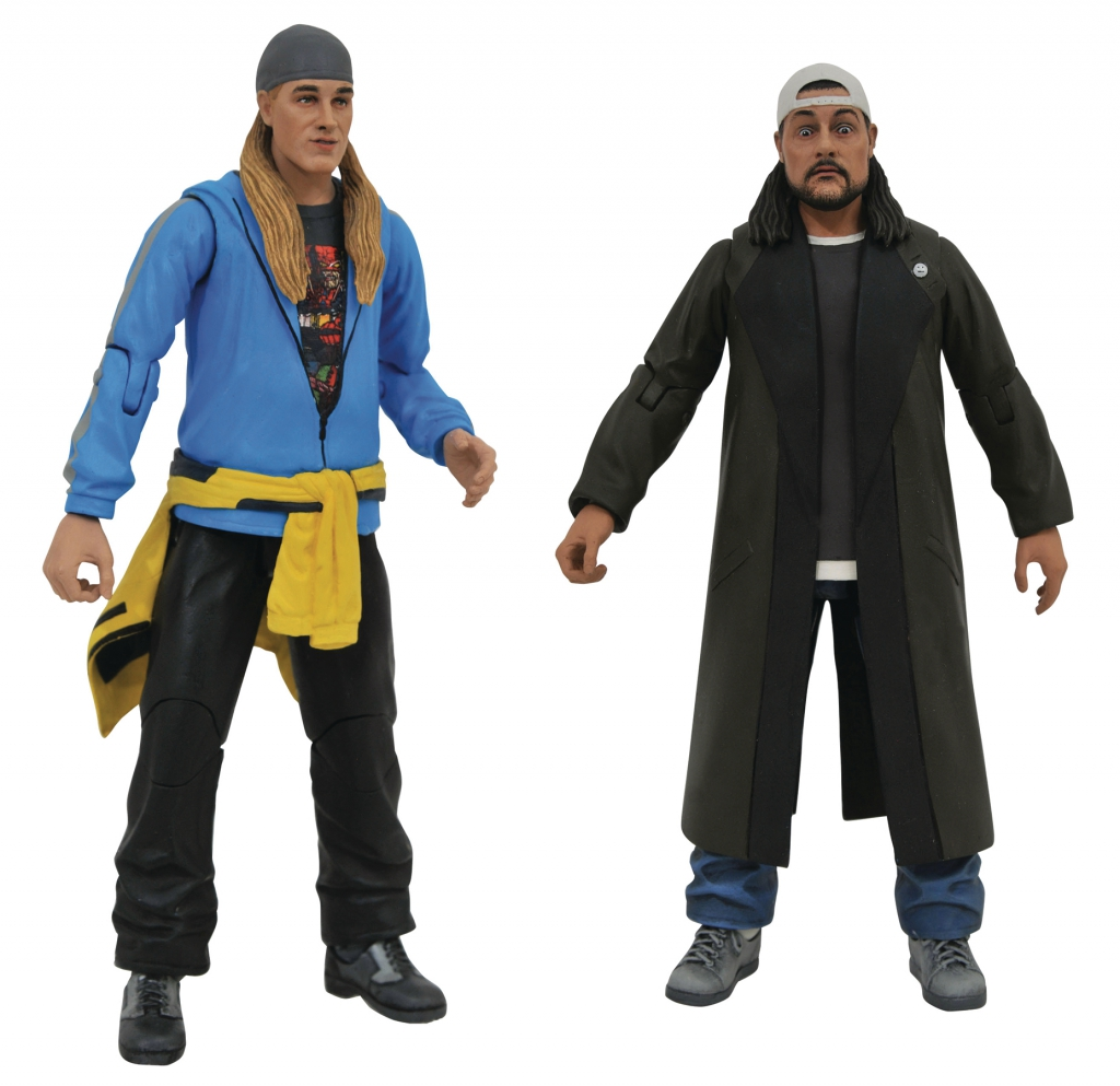 Jay and Silent Bob Reboot Action Figures