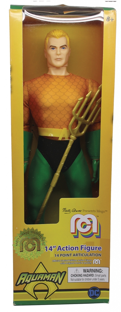 Aquaman Mego 14-inch Action Figure