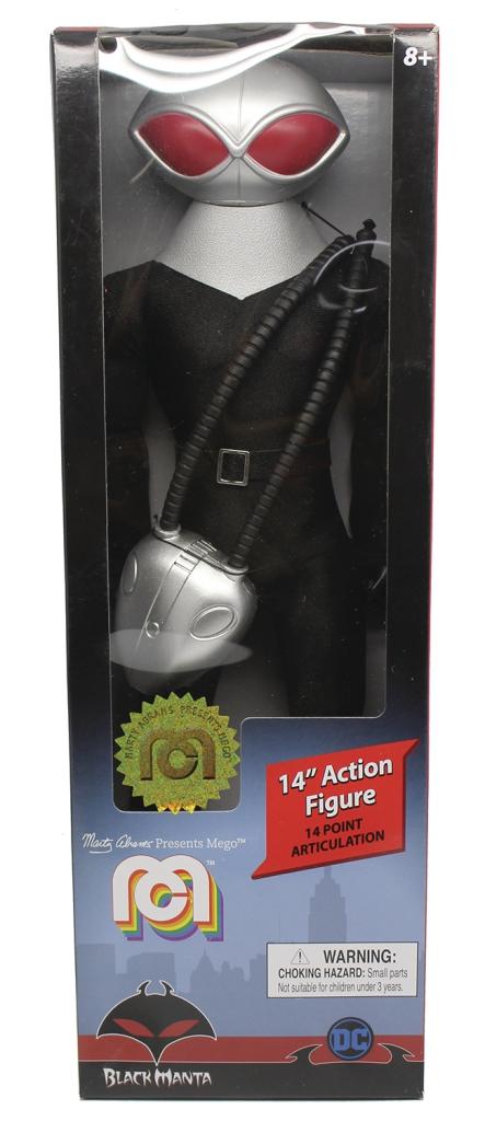 Black Manta Mego 14-inch Action Figure