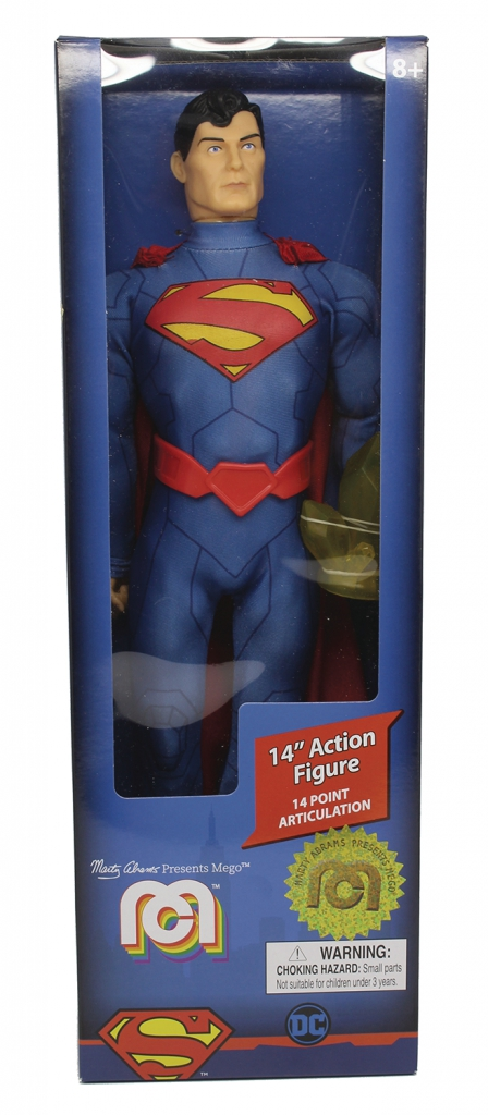 New 52 Superman Mego 14-inch Action Figure